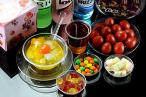 康卫者一次餐具彩色产品展示